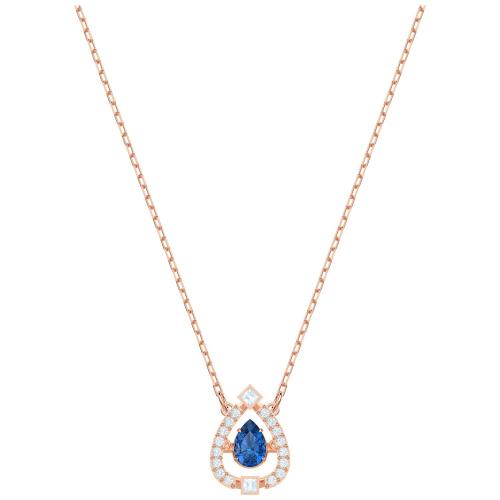 Naszyjnik SWAROVSKI - Sparkling Dance Pear, Rose gold 5465281