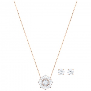 Zestaw SWAROVSKI - Sunshine, Rose gold 5480468