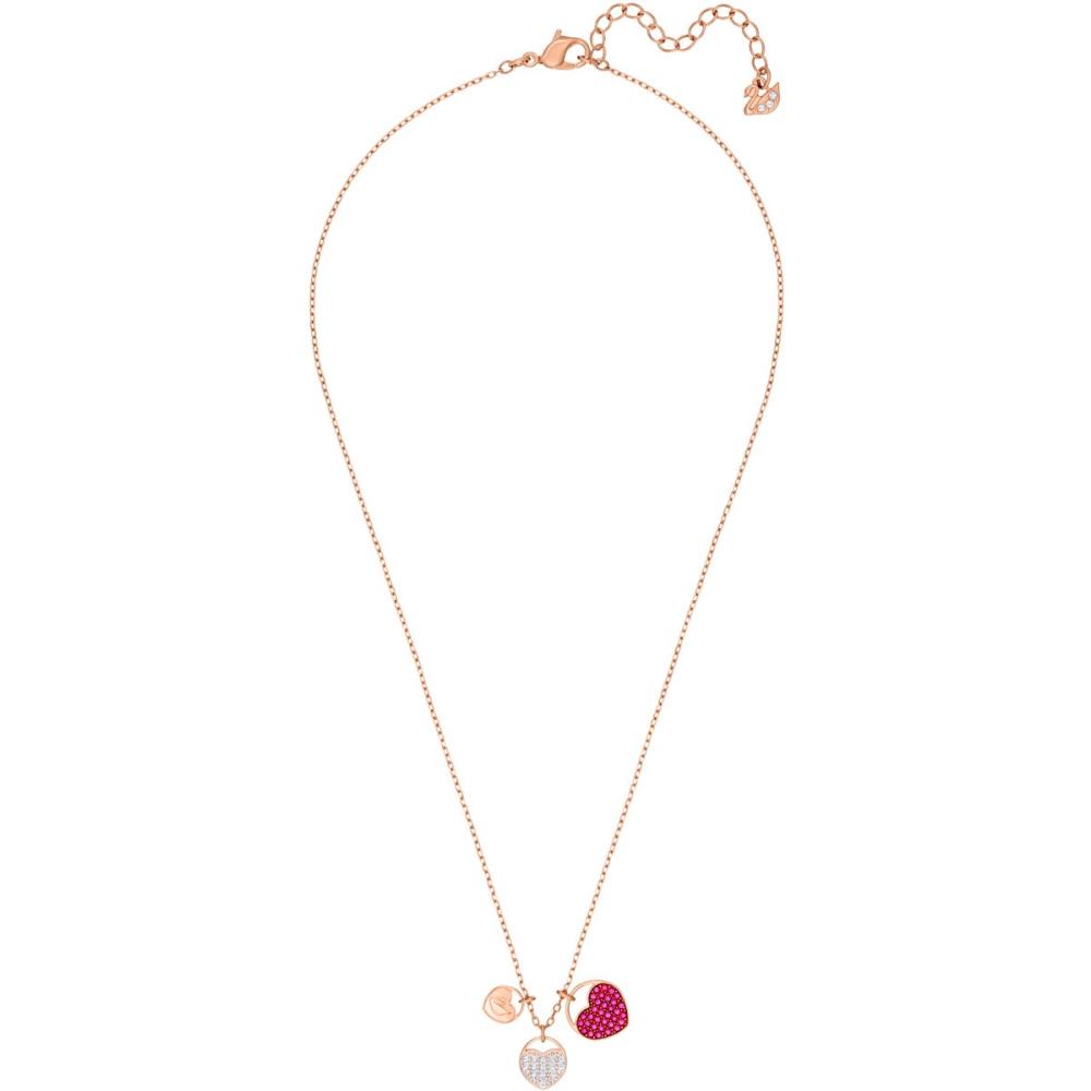 Naszyjnik SWAROVSKI - Ginger, Pink, Rose gold 5472446