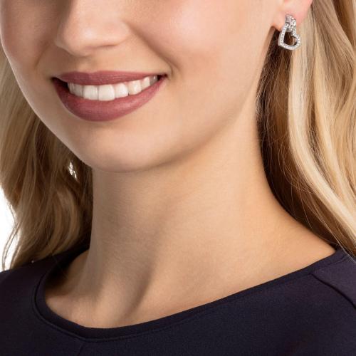 Kolczyki SWAROVSKI - Lovely Pierced, White 5466756