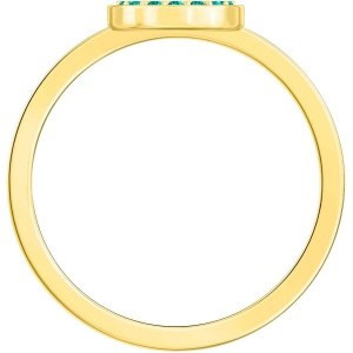 Pierścionek SWAROVSKI - Luckily, Multi-colored, Gold 5482515 52