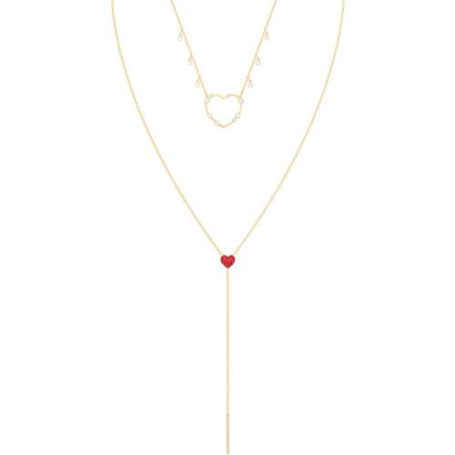 Zestaw Naszyjników SWAROVSKI - OXO, Red, Gold 5460326
