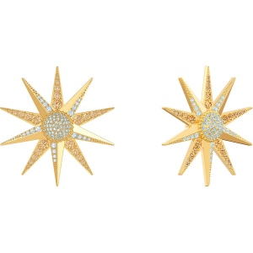 Kolczyki SWAROVSKI - Lucky Goddess, Multi-colored, Gold 5464169