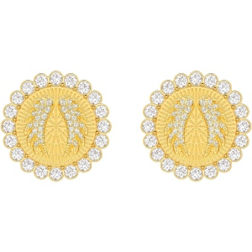 Klipsy SWAROVSKI - Lucky Goddess, White, Gold 5464120