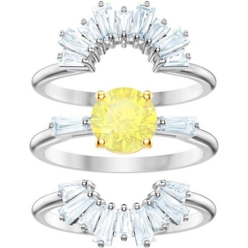 Zestaw Pierścionków SWAROVSKI - Sunshine Ring Set, White 5482498 50