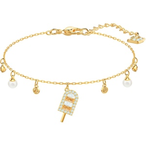 Bransoletka SWAROVSKI - No Regrets Ice Cream, Multi-colored, Gold 5465411