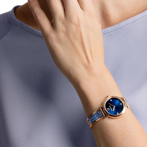 Zegarek Swarovski - Cosmic Rock, Blue, Rose Gold 5466209