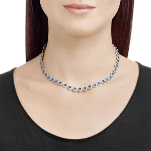 Naszyjnik SWAROVSKI - Angelic, Blue, Silver 5482698