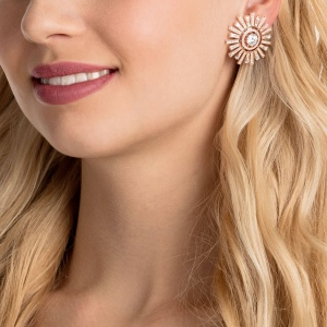 Klipsy SWAROVSKI - Sunshine, White, Rose Gold 5464833