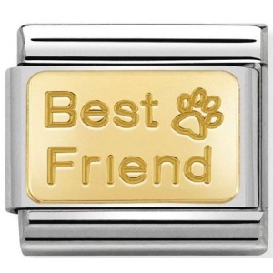 Nomination - Link 18K Gold 'Best Friends' 030121/50