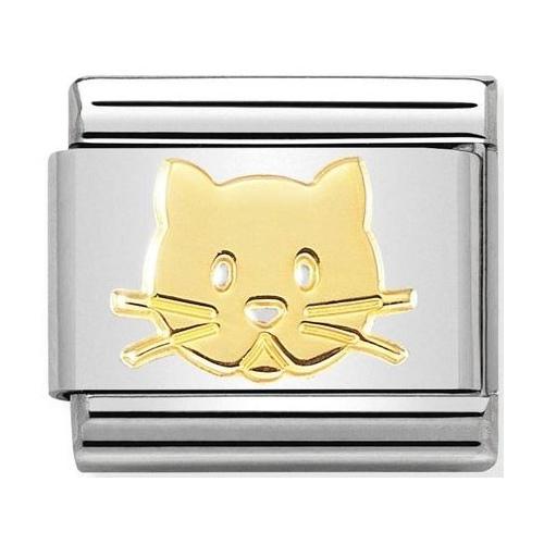 Nomination - Link 18K Cat, Gold 030162/53