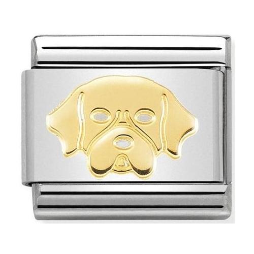 Nomination - Link 18K Golden Retriever, Gold 030162/56