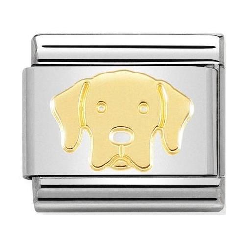Nomination - Link 18K Labrador, Gold 030162/57