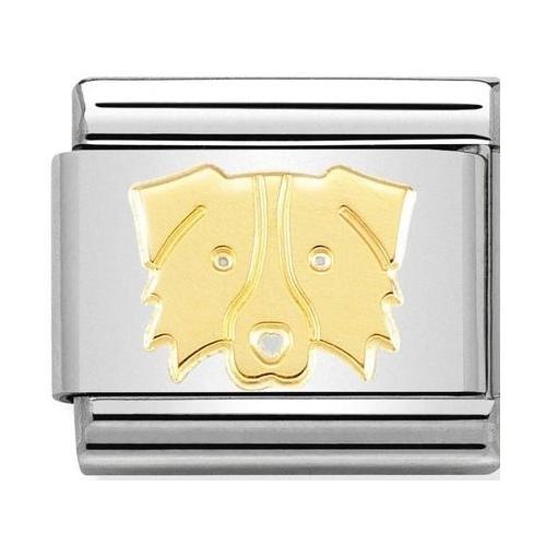 Nomination - Link 18K Border Collie , Gold 030162/59
