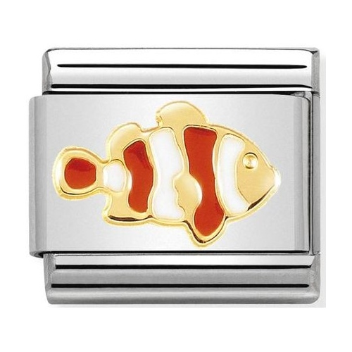 Nomination - Link 18K Gold 'Clownfish' 030272/40