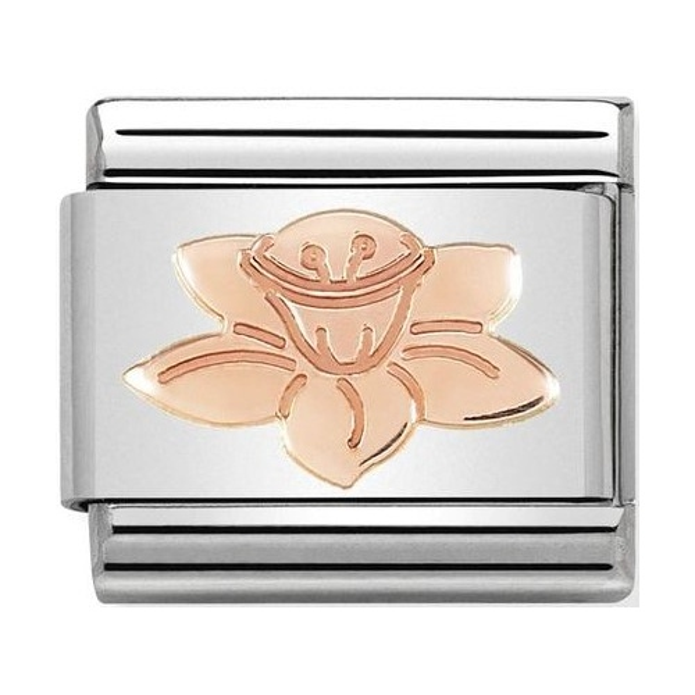 Nomination - Link 9K Rose Gold 'Daffodil' 430104/23