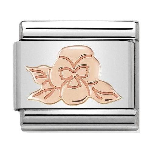 Nomination - Link 9K Rose Gold 'Violet' 430104/24