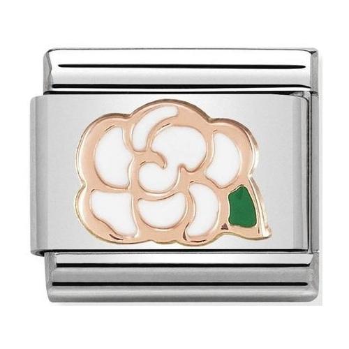 Nomination - Link 9K Rose Gold 'Camellia' 430202/02