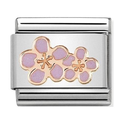 Nomination - Link 9K Rose Gold 'Peach Blossom' 430202/03