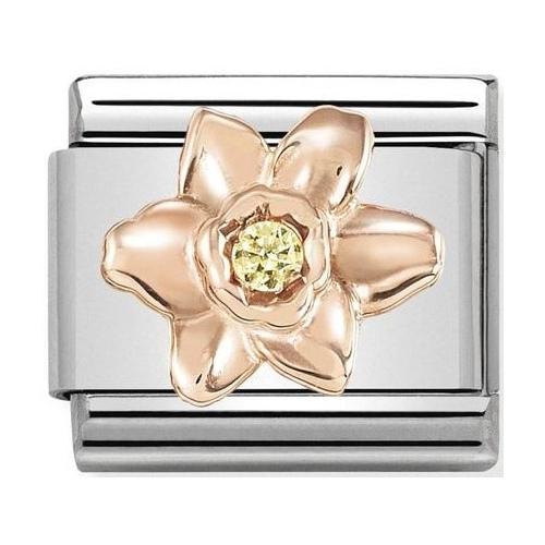 Nomination - Link 9K Rose Gold 'Daffodil' 430305/13
