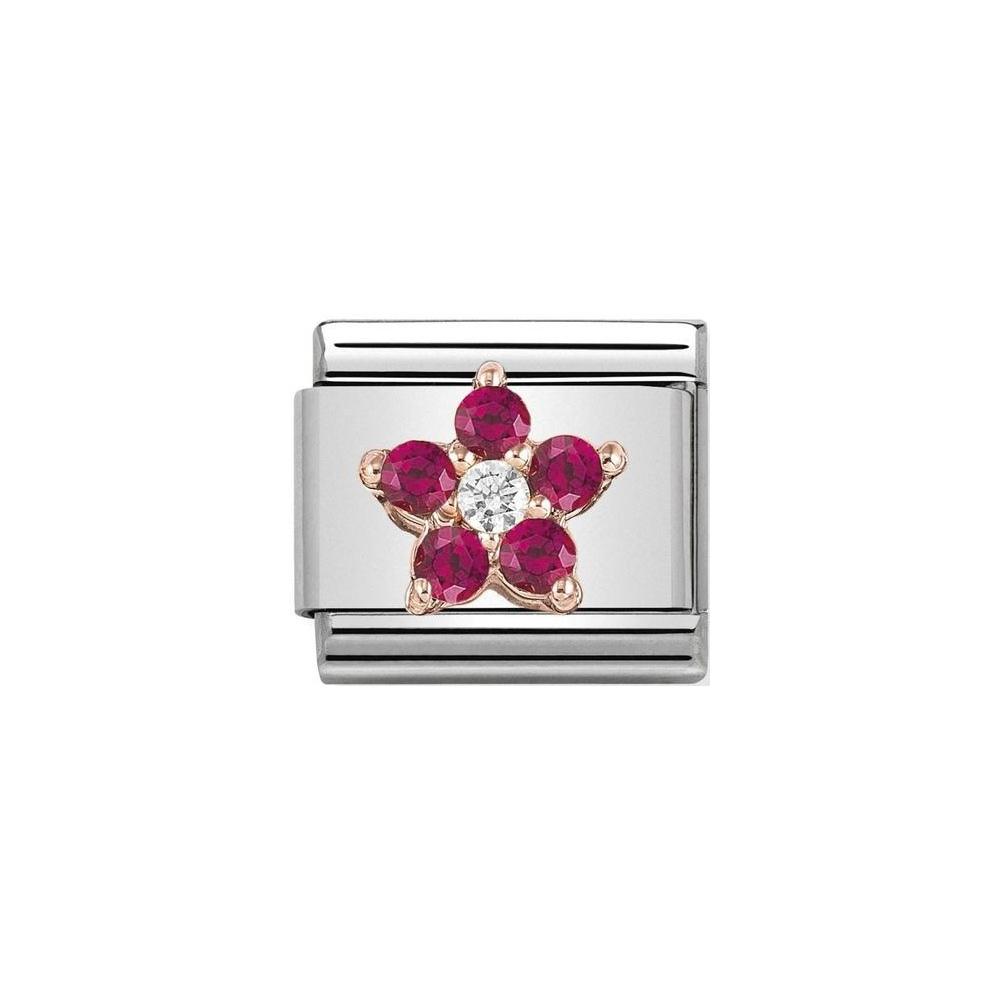Nomination - Link 9K Rose Gold 'Butterfly' 430317/01