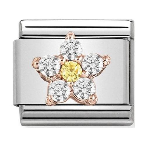 Nomination - Link 9K Rose Gold 'Butterfly' 430317/03