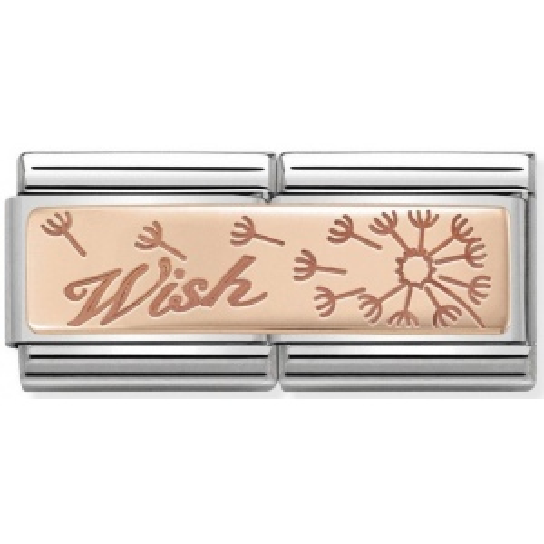 Nomination - Double Link 9K Rose Gold 'Wish' 430710/19