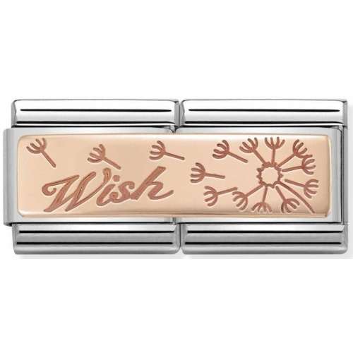 Nomination - Double Link 9K Rose Gold 'Wish' 430710/19