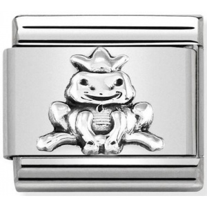 Nomination - Link 925 Silver 'Frog with Crown' 330101/36
