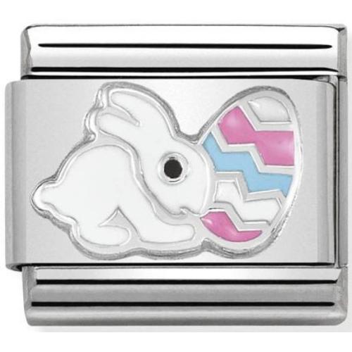 Nomination - Link 925 Silver 'Easter Rabbit' 330204/19