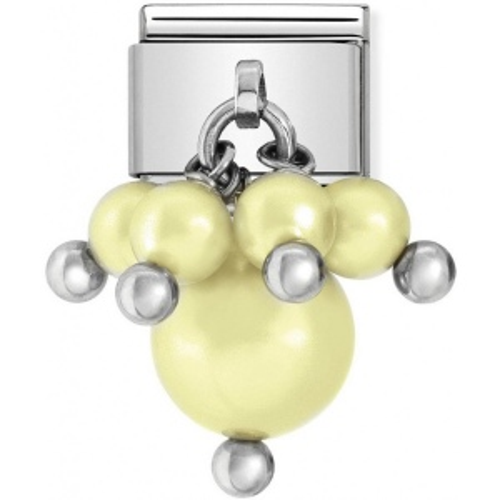 Nomination - Link 925 Silver 'Yellow Pastel Swarovski Pearls' 030609/05