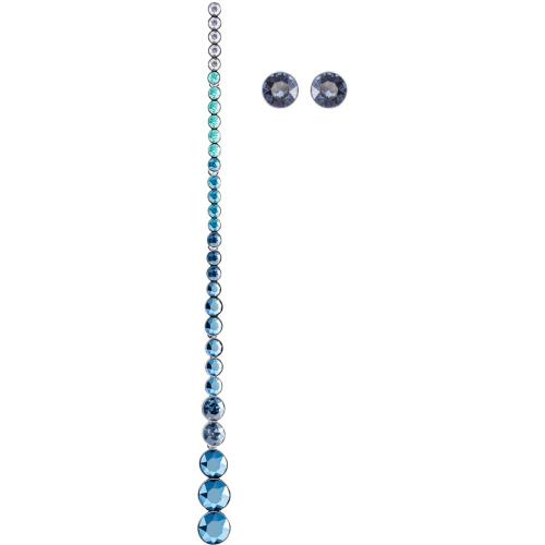 Zestaw Kolczyków SWAROVSKI - Ocean View, Multi-colored, Silver 5457405
