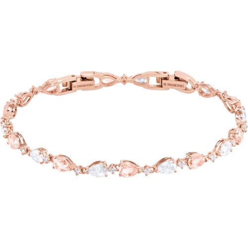 Bransoletka SWAROVSKI - Vintage, Pink, Rose Gold 5466883