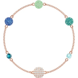 SWAROVSKI - Remix Collection, Pop Strand, Green, Rose Gold 5462653 M