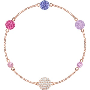 SWAROVSKI - Remix Collection, Pop Strand, Purple, Rose Gold 5462654 M