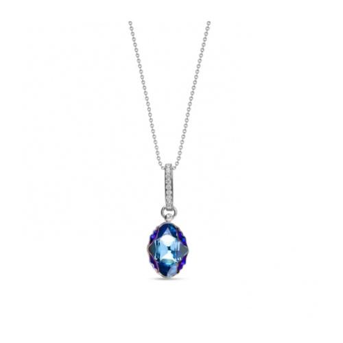 Spark Naszyjnik Aquamarine Metallic Blue NCM492614AQMB