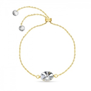 Spark Bransoletka Oval Uno Gold BSLG412214C