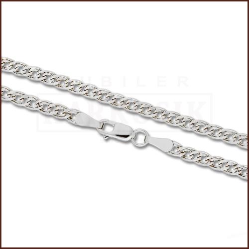 Srebrny Łańcuszek Nonna 55cm pr. 925