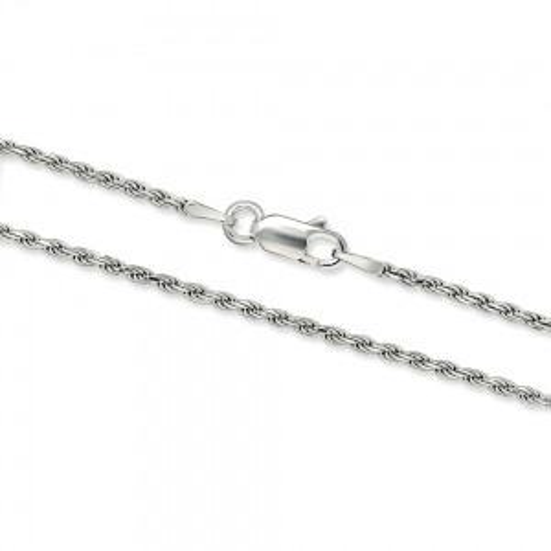 Srebrny łańcuszek Kordel 50cm pr. 925