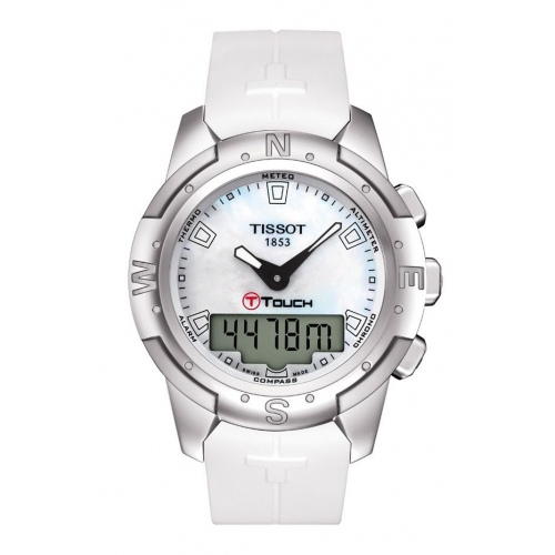 Tissot Touch T047.220.47.111.00 T-Touch II Titanium Lady