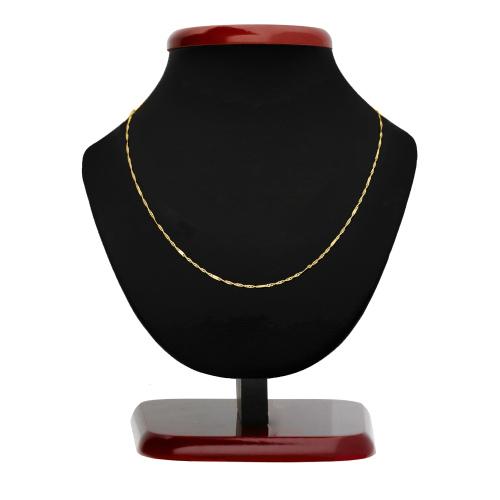 Złoty Łańcuszek Zdobiony Singapur 45cm pr. 333