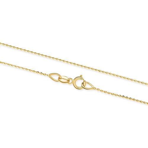 Złoty Łańcuszek Ankier 42cm pr. 333