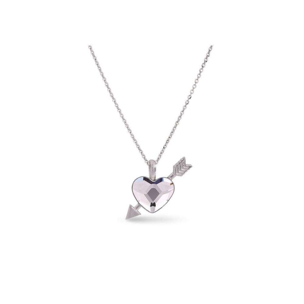 Spark Naszyjnik Pierced Heart NS2808C