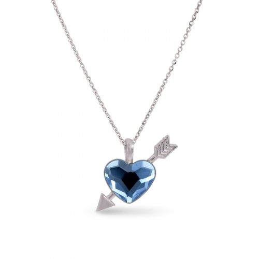 Spark Naszyjnik Pierced Heart NS2808DB