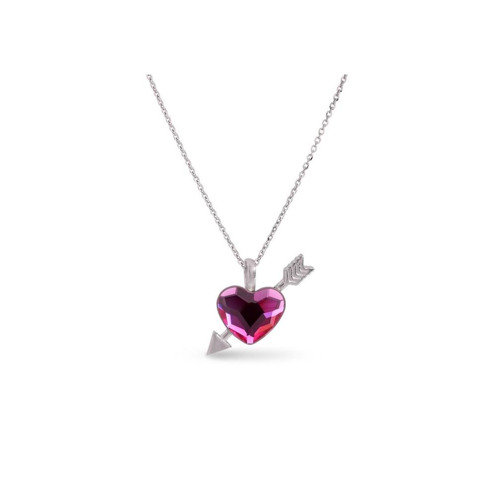 Spark Naszyjnik Pierced Heart NS2808F