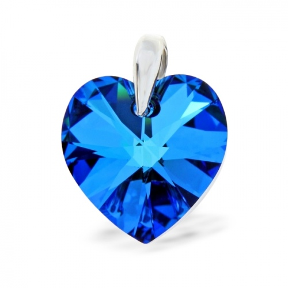 Spark Wisiorek Xilion Small Heart WO620218BB