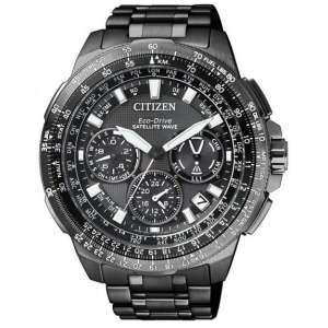 Citizen CC9025-51E Navihawk Satellite Wave Titanium