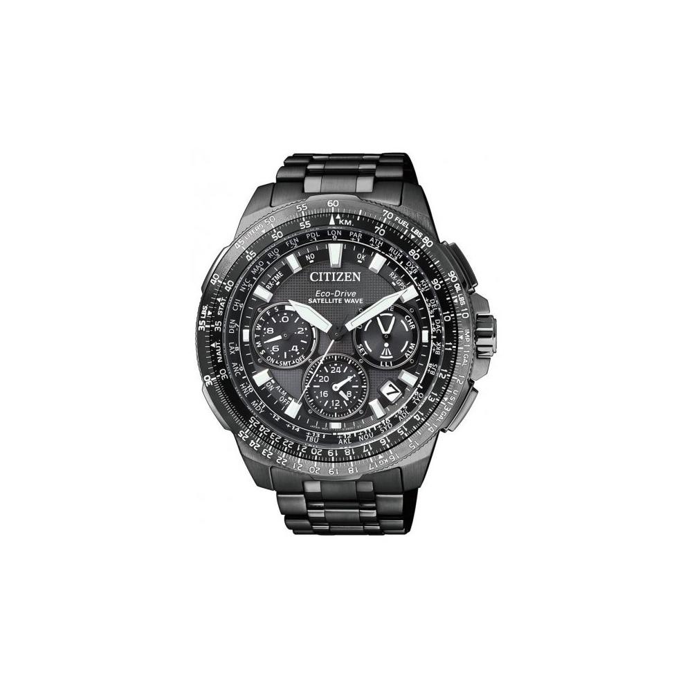 Citizen CC9025-51E Navihawk Satellite Wave Titanium