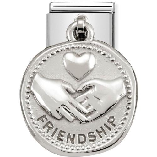 Nomination - Link 925 Silver 'Charms Przyjaźń' 331804/04