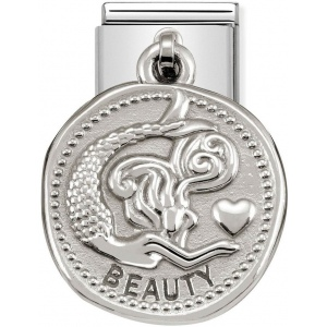 Nomination - Link 925 Silver 'Charms Piękno' 331804/03